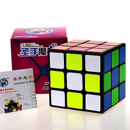CuberSpeed Super Big Legend 3x3 Magic Cube Black 7cm 3x3x3 Speed