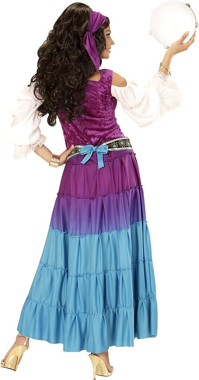 WIDMANN Disfraz de gitana bailarina para mujer talla grande - XL ...