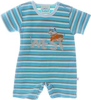 68 74 80 NEU Langarmbody LA Baumwolle Unisex Uni Neutral Bear Baby Body Gr