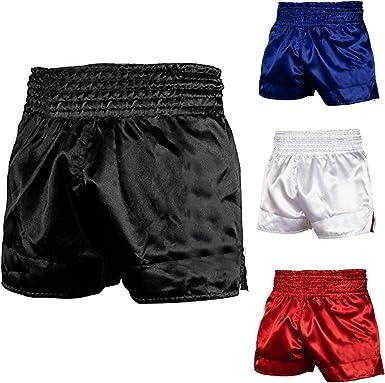 Boxing Trunks Pants Shorts TWINS Muay Thai Kick Boxing MMA UFC White//Black