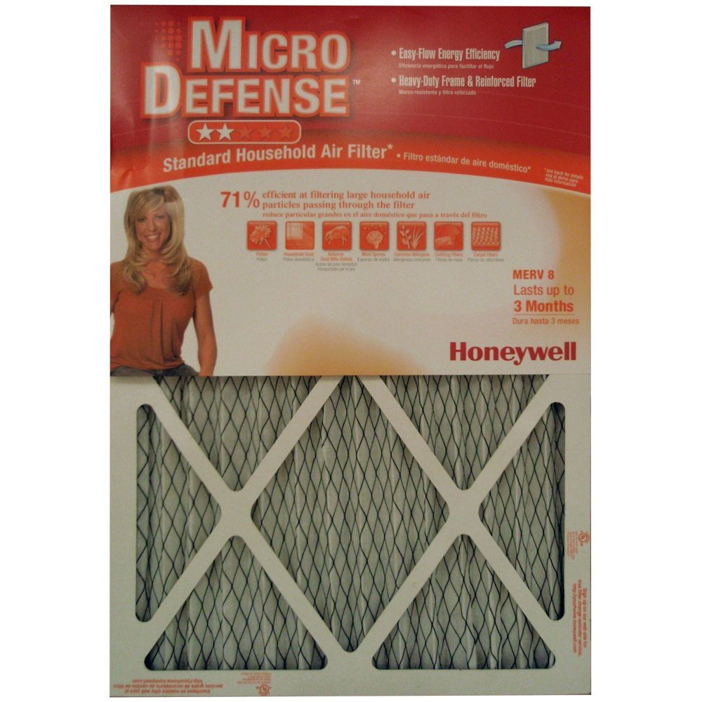 4. Honeywell CF108A1620/A Standard Air Cleaning Filter, 16 x 20 x 1-Inch