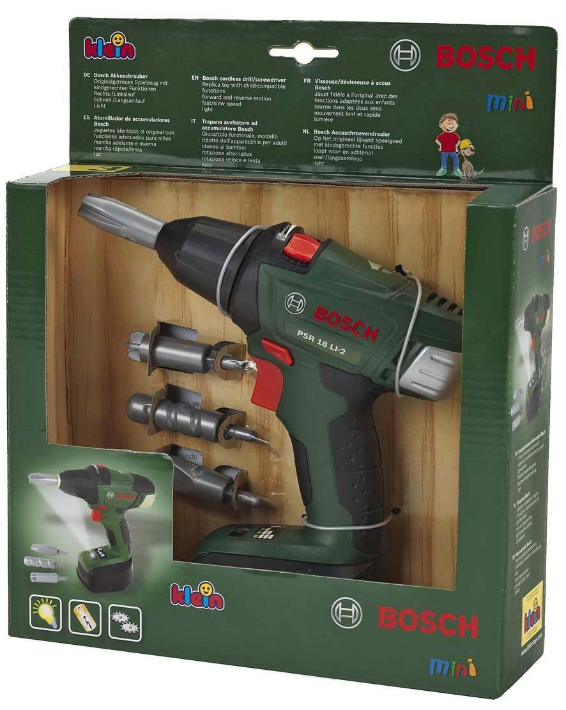 Theo Klein-8567 Bosch atornillador de acumuladores, juguete, Multicolor (8567)