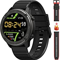 IOWODO Smart Watch for Android/iOS Phones Fitness Tracker Wristwatch with Heart Rate Monitor, Sleep Monitor Fitness…