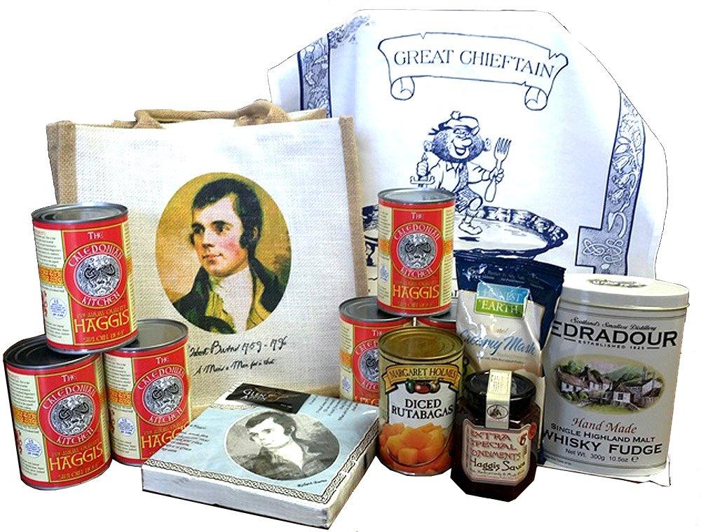 Caledonian Kitchen, The Complete Haggis Supper Kit, Presentation Gift Set