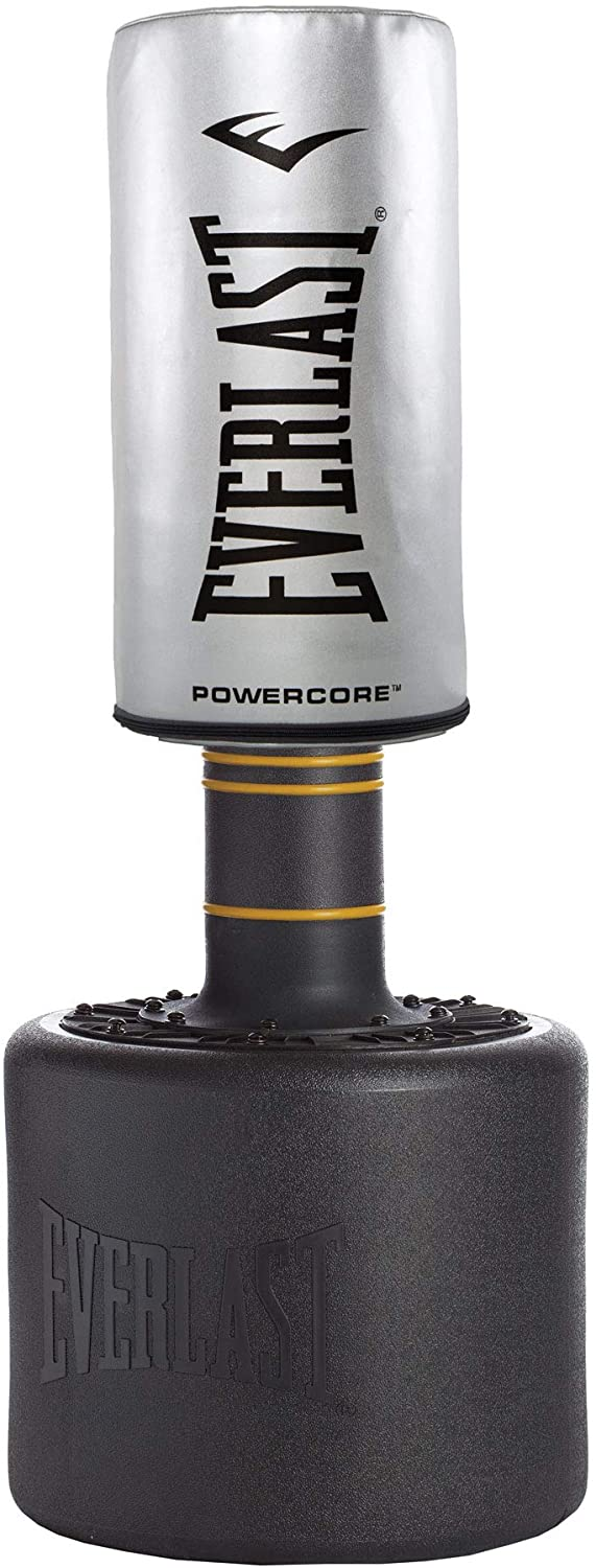 Everlast Powercore Free Standing Indoor Home Rounded Heavy Duty Fitness Training Punching Bag