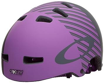 Oakley Casco y accesorios de ciclismo para hombre, tamaño L/XL, color morado