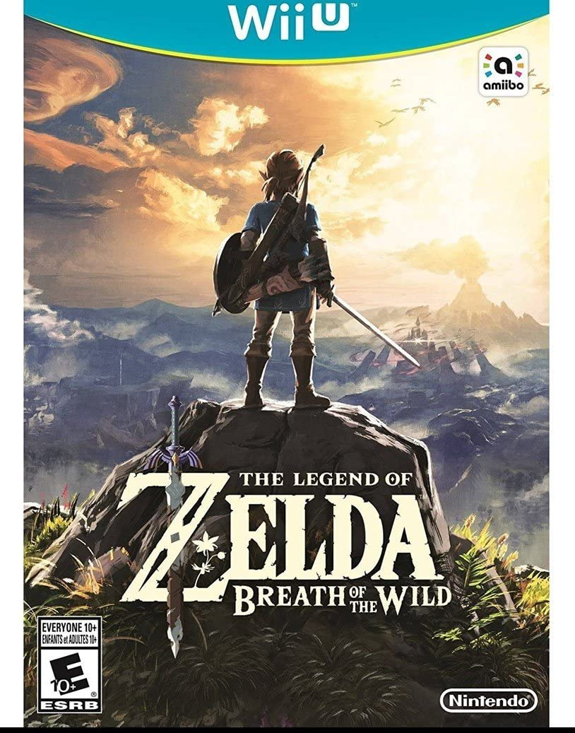 Amazon Com The Legend Of Zelda Breath Of The Wild Nintendo
