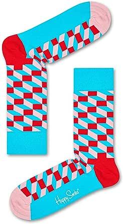 Happy Socks Men's Filled Optic Sock