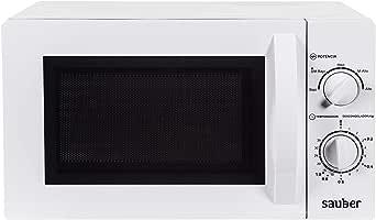 Sauber - Microondas sin Grill HMS03W - 20 litros - Color Blanco ...