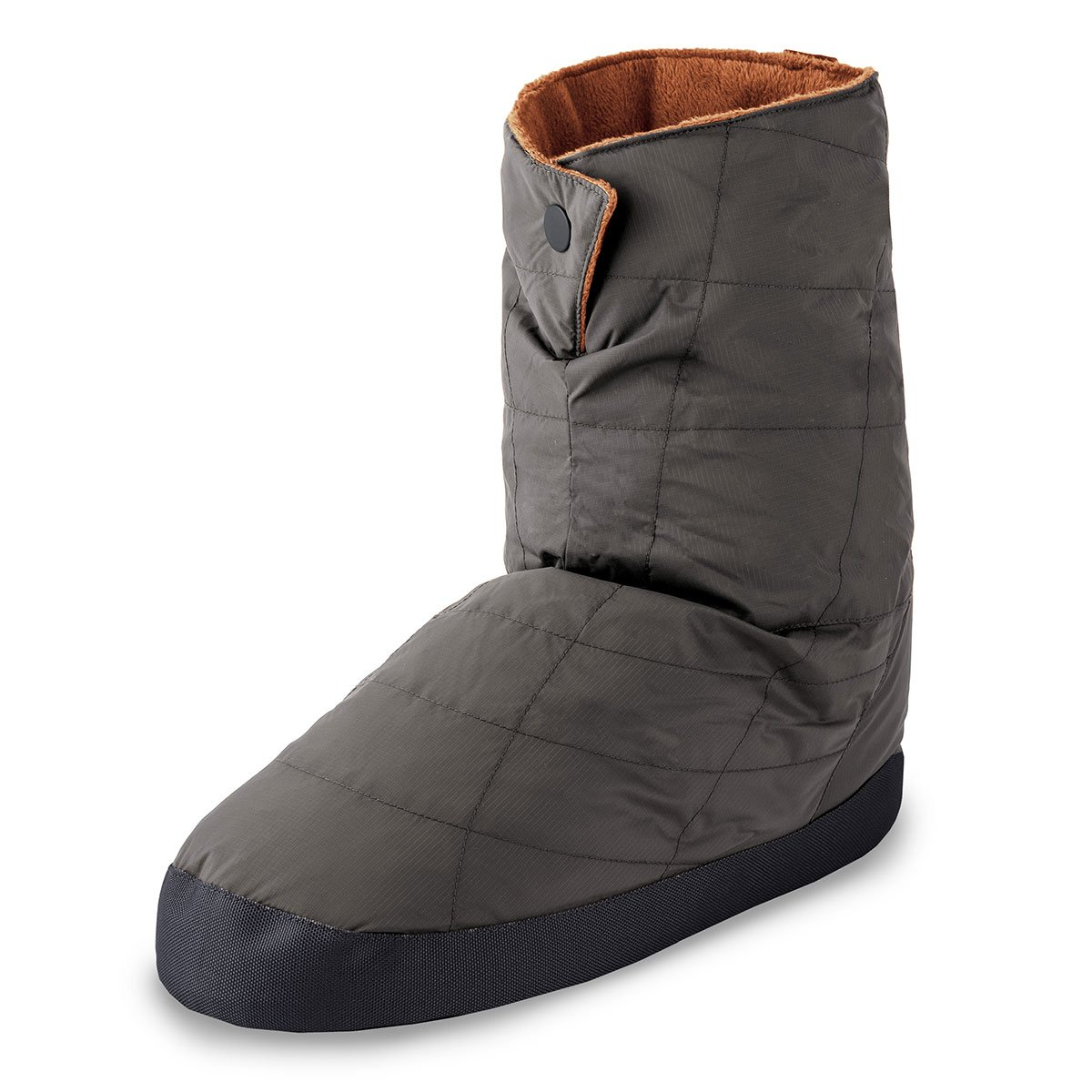 Cabiniste Men's Down Insulated Bootie (Medium, Pewter/Copper)