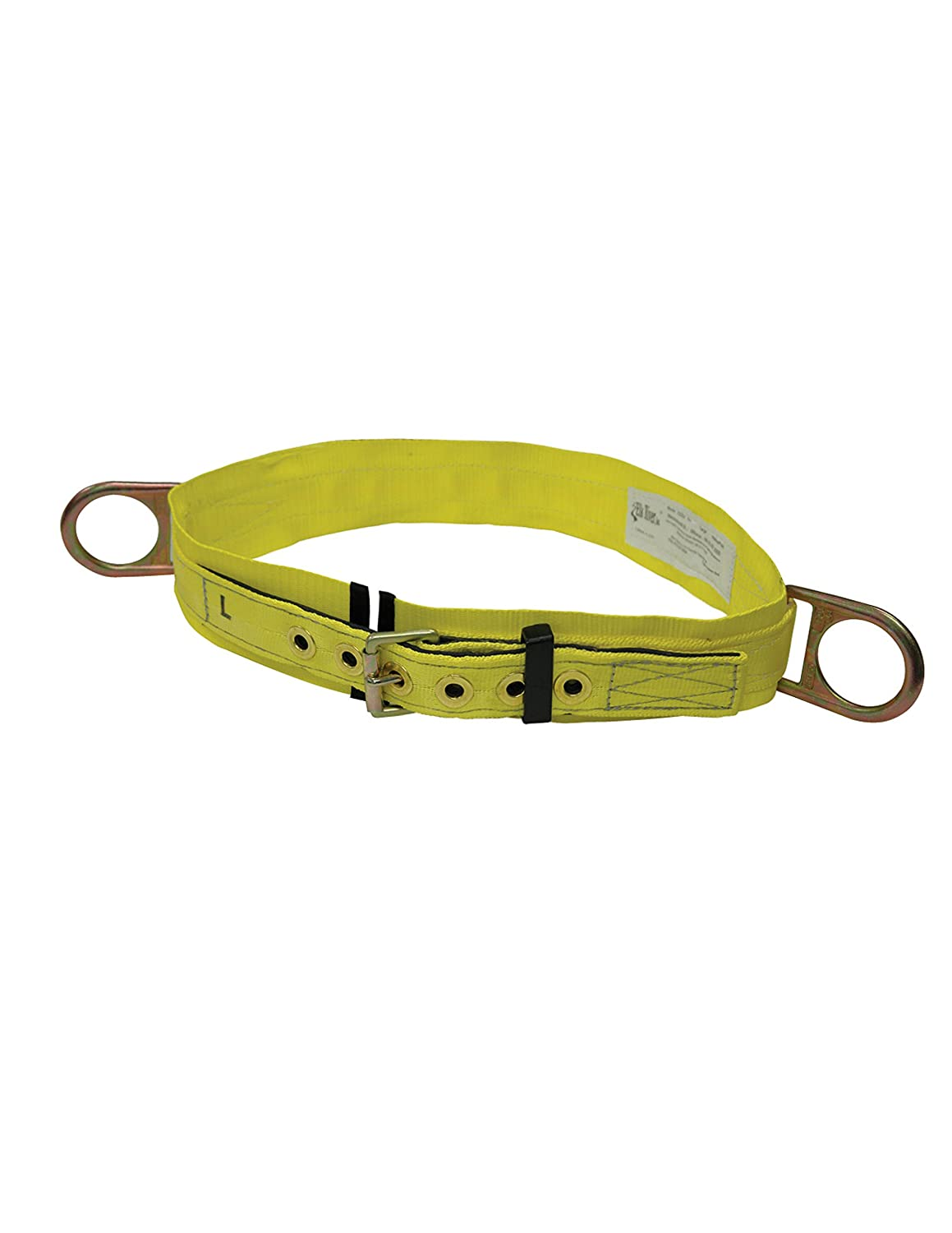 Elk River 03202 Nylon Web Double D Body Work Belt with 3' Pad and 2 D-Rings, Medium Inc