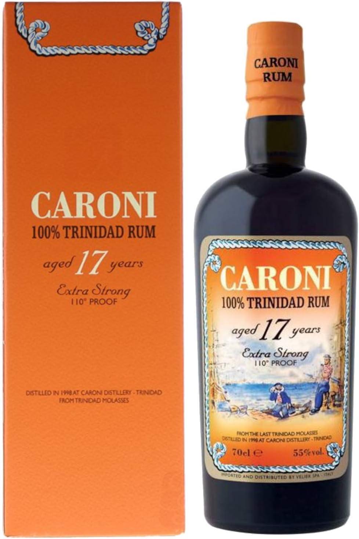 Caroni - 17 años - Ron 55 ° 70cl: Amazon.es: Alimentación y ...