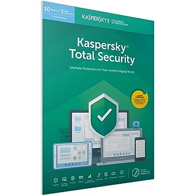 Kaspersky Total Security 2019   10 Devices   1 Year   PC/Mac/Android   Dowload, Código Dentro De Un Paquete