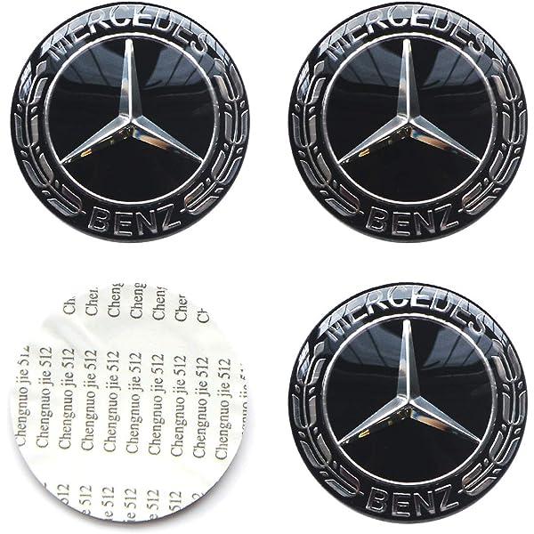 Mercedes-Benz AMG Black Emblem Badge Aluminum Sticker