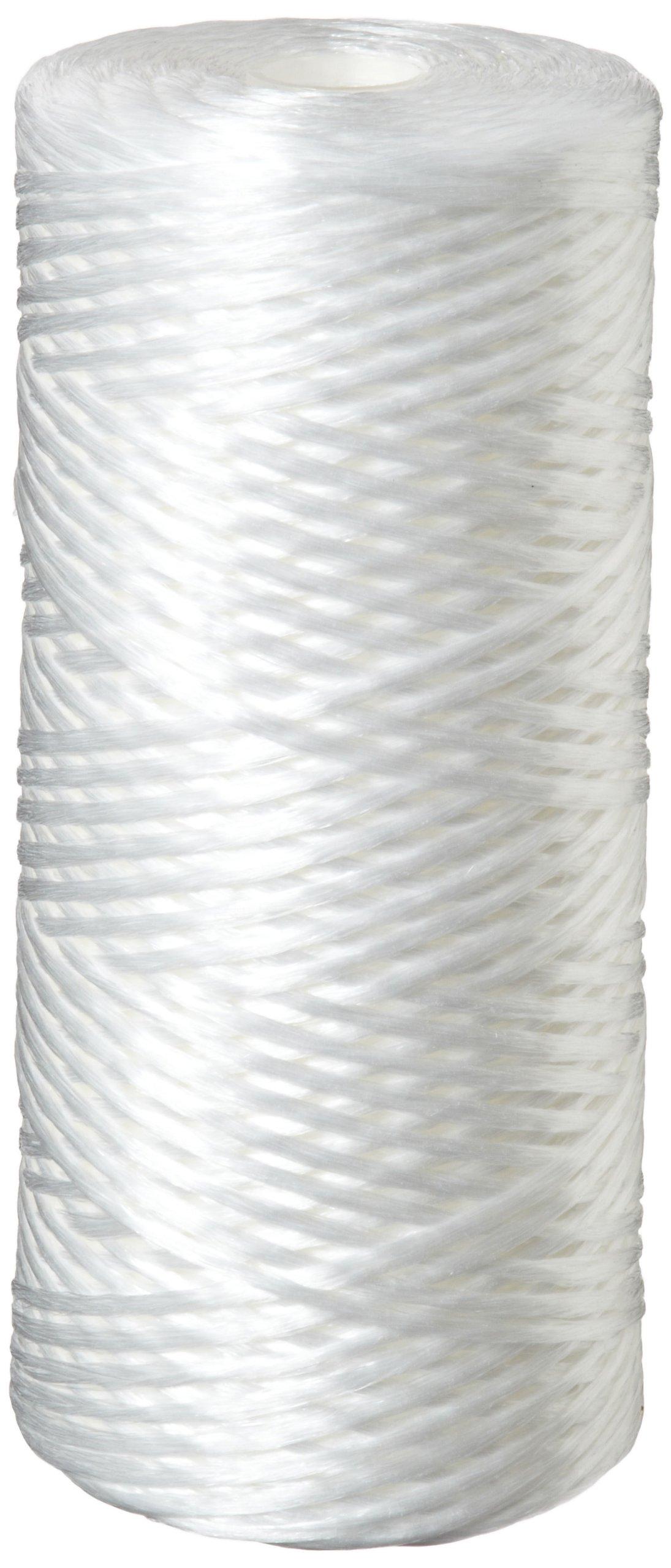Pentek WPX5BB97P String-Wound Polypropylene Filter Cartridge, 10'' x 4.5'', 5 Microns