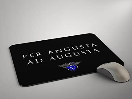 Ordinaire Police Life Mouse Pad Police Motto Per Angusta Ad Augusta