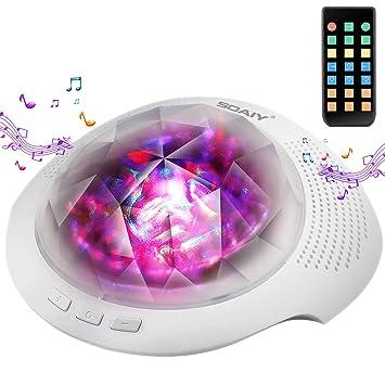 Amazon.com: Soaiy máquina de sonido para dormir y ...