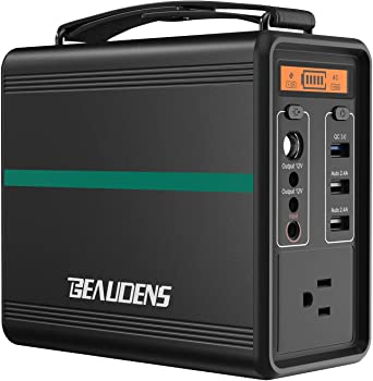 Beaudens Portable Power Station with Multiple Ports