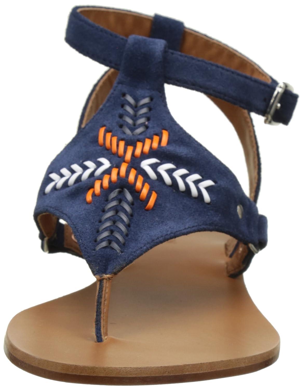 IKKS Damen Sandale Broderies Knöchelriemen: Amazon.de: Schuhe & Handtaschen