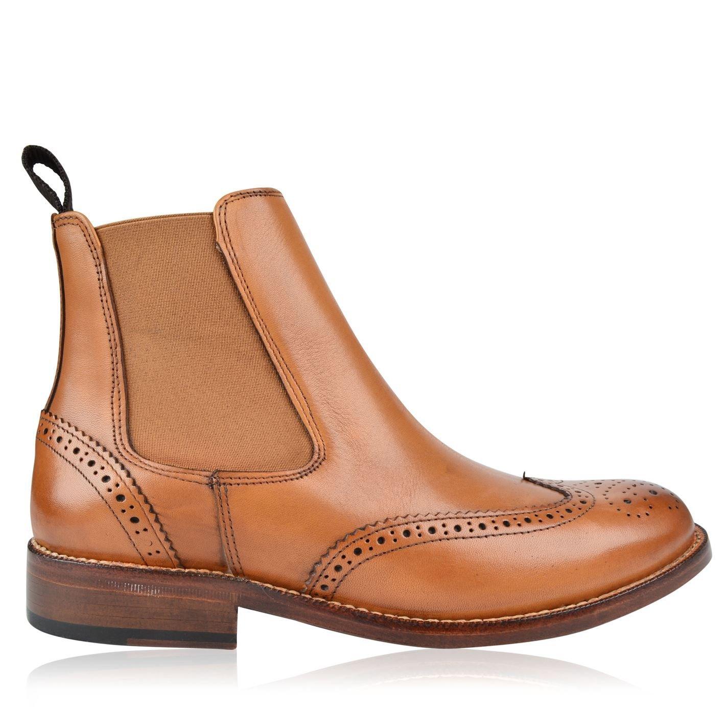 Full Circle Cobham Herren Stiefeletten Smart Freizeit Ankle Ankle Ankle Stiefel Leder Schuhe bb1153