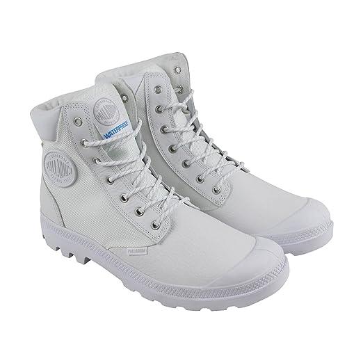 2acce7dd96926 Amazon.com: Palladium Boots Pampa Sport Cuff Wpn, Color White (73234 ...