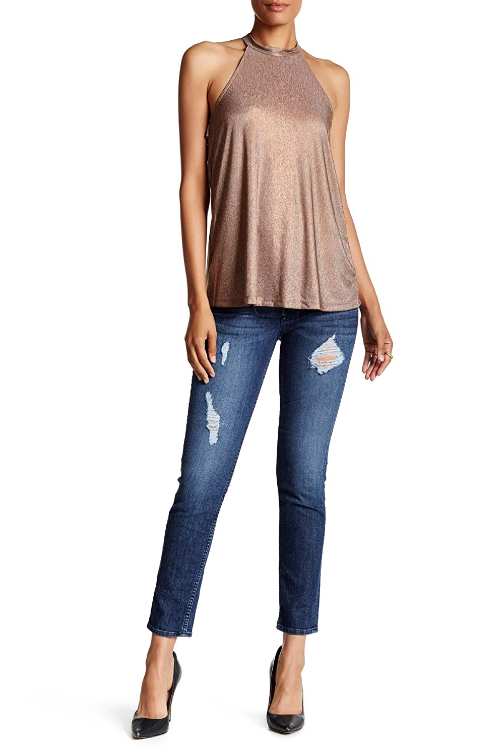 Hudson Women's Collin Midrise Skinny Ankle in Samtosa