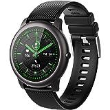 ELEGIANT Reloj Inteligente, Smartwatch para Hombres y Mujeres, Pulsera de Actividad IP68, Monitor de Frecuencia Cardíaca…