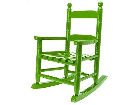 Sedie A Dondolo In Legno Per Bambini : Jip hm gr rocking chair sedia a dondolo per bambino blu