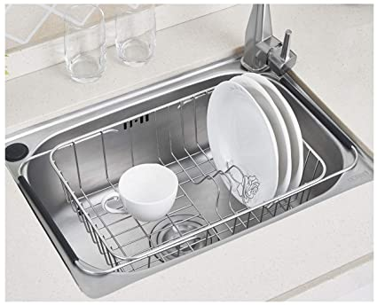Charmant Image Unavailable. Image Not Available For. Color: Sink Dish Drying Rack  Stainless Steel ...
