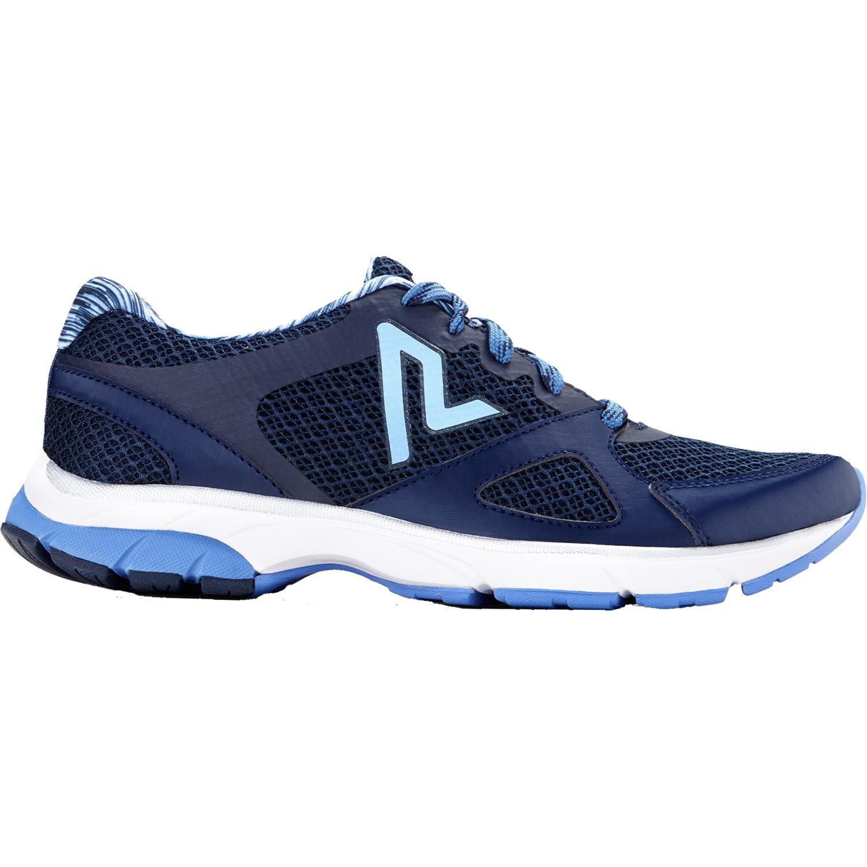 Vionic Womens Drift Satima Lace Up Walking Sneaker Navy Size 8.5