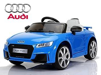 Kinderfahrzeug lizenziert Elektro Auto Audi TTRS 12V Akku und 2 Motoren