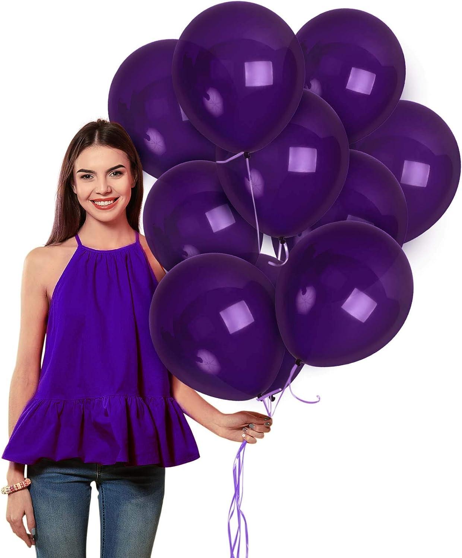 Lilac Latex Balloon Lilac 11 inch Balloons Purple Balloons Purple Wedding Purple Baby Shower Purple Bridal Shower Mermaid