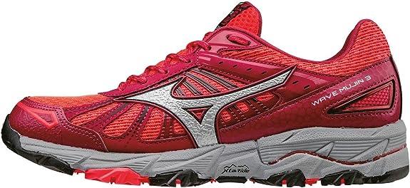 Mizuno Wave Mujin 3 (w), Zapatillas de Running para Asfalto para Mujer, Rosa (Diva Pink/Silver/Persian Red), 36.5 EU: Amazon.es: Zapatos y complementos