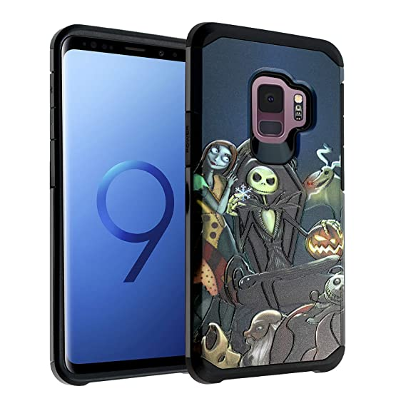 Nightmare Before Christmas Phone Case.The Nightmare Before Christmas Galaxy S9 Case Imagitouch 2 Piece Style Armor Case With Flexible Shock Absorption Case Cover For Samsung Galaxy 9