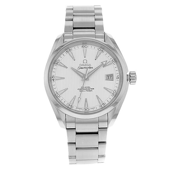 Omega Seamaster Aqua Terra 150 M - Reloj (Reloj de pulsera, Masculino, Plata