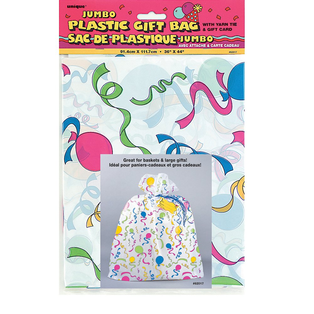Amazon Jumbo Plastic Celebration Gift Bag Kitchen Dining