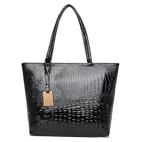 efeffec4c Black Sale Friday Deals Cyber Sales Monday Deals Sales-Women's Tote Bag  Crocodile Modern Style