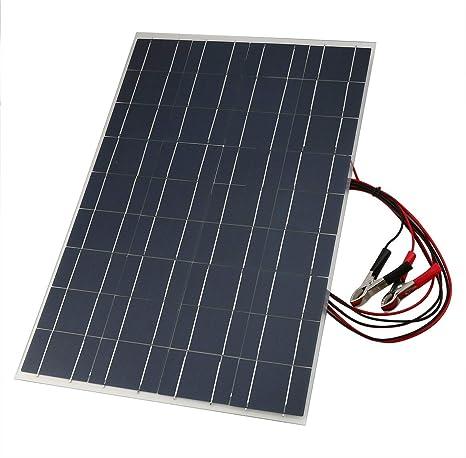 Caricabatteria per auto solare flessibile 18V 30W