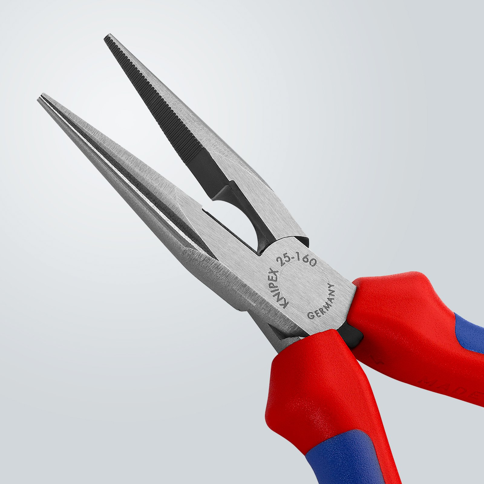 Knipex 2502160 6-1/4-Inch Chain Nose Pliers with Cutter - Comfort Grip by KNIPEX Tools (Image #3)