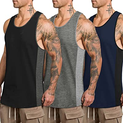 BEAST 3 Pack Men Muscle Quick dry Gym Hoodies Bodybuilding Workout Sleeveless