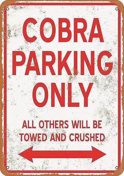 Taco Thursday Cobra Parking Only Pintura de Hierro Cartel de ...