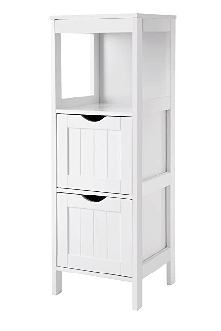 amazon com vasagle ubbc42wt floor cabinet multifunctional bathroom rh amazon com tall bathroom storage cabinet amazon