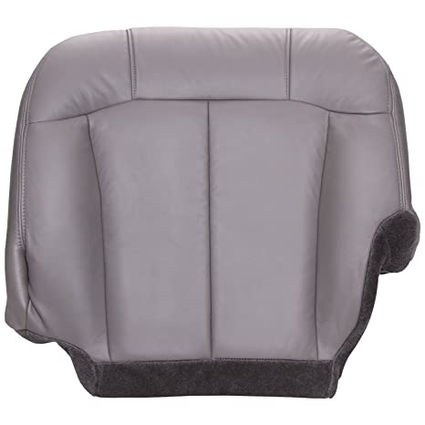 Awesome The Seat Shop Driver 40 Portion Split Bench Bottom Replacement Seat Cover Medium Dark Pewter Gray Leather W Graphite Trim Compatible With Onthecornerstone Fun Painted Chair Ideas Images Onthecornerstoneorg