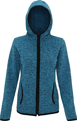 CreativeMinds UK – Chaqueta – para mujer Sapphire/ Black Fleck