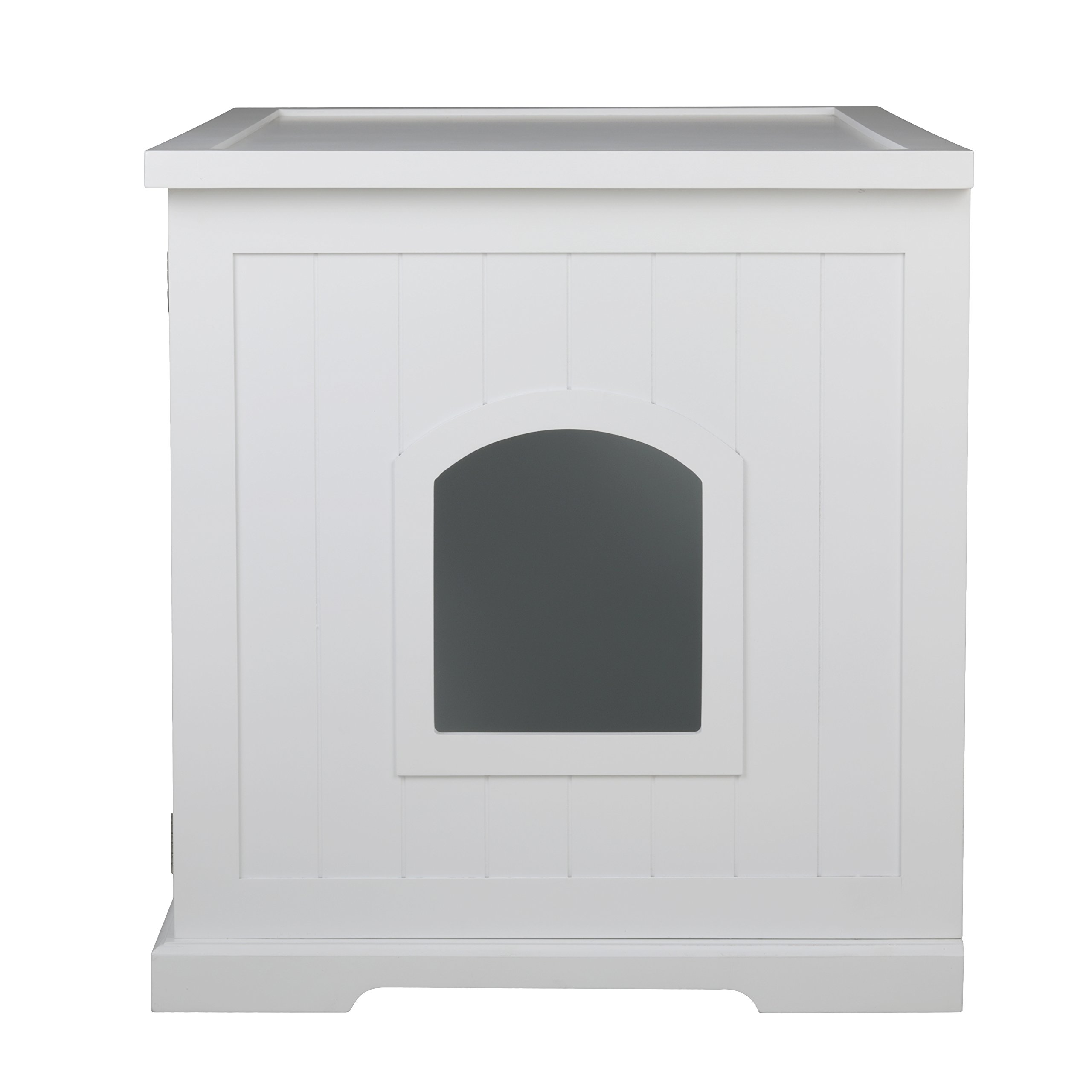 Merry Products Cat Washroom Bench, White by Merry (Image #8)