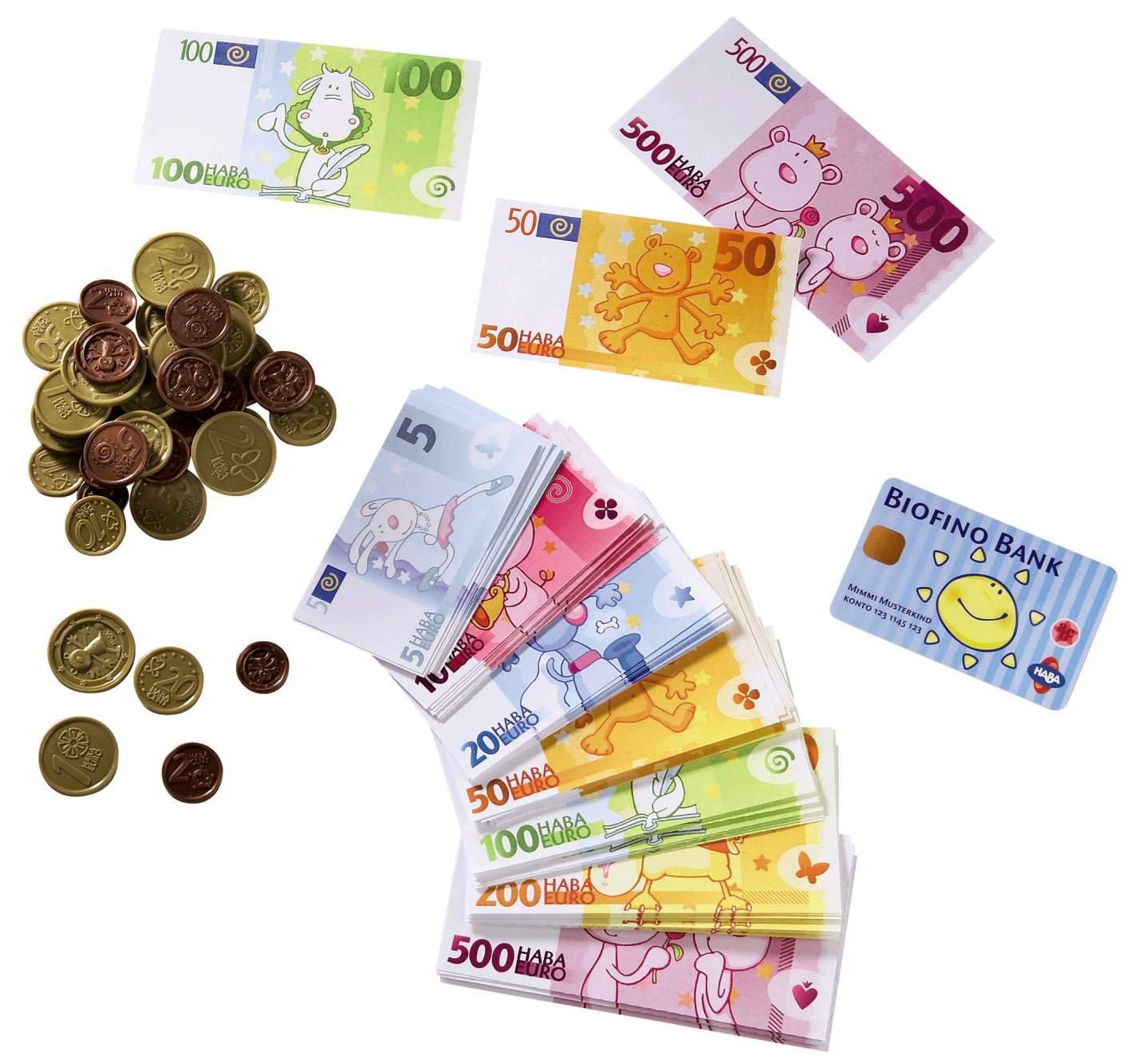 Kaufladen Kasse Holz - Haba Biofino Spielgeld
