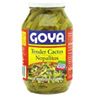 Goya Foods Tender Cactus (Nopalitos), 30-Ounce