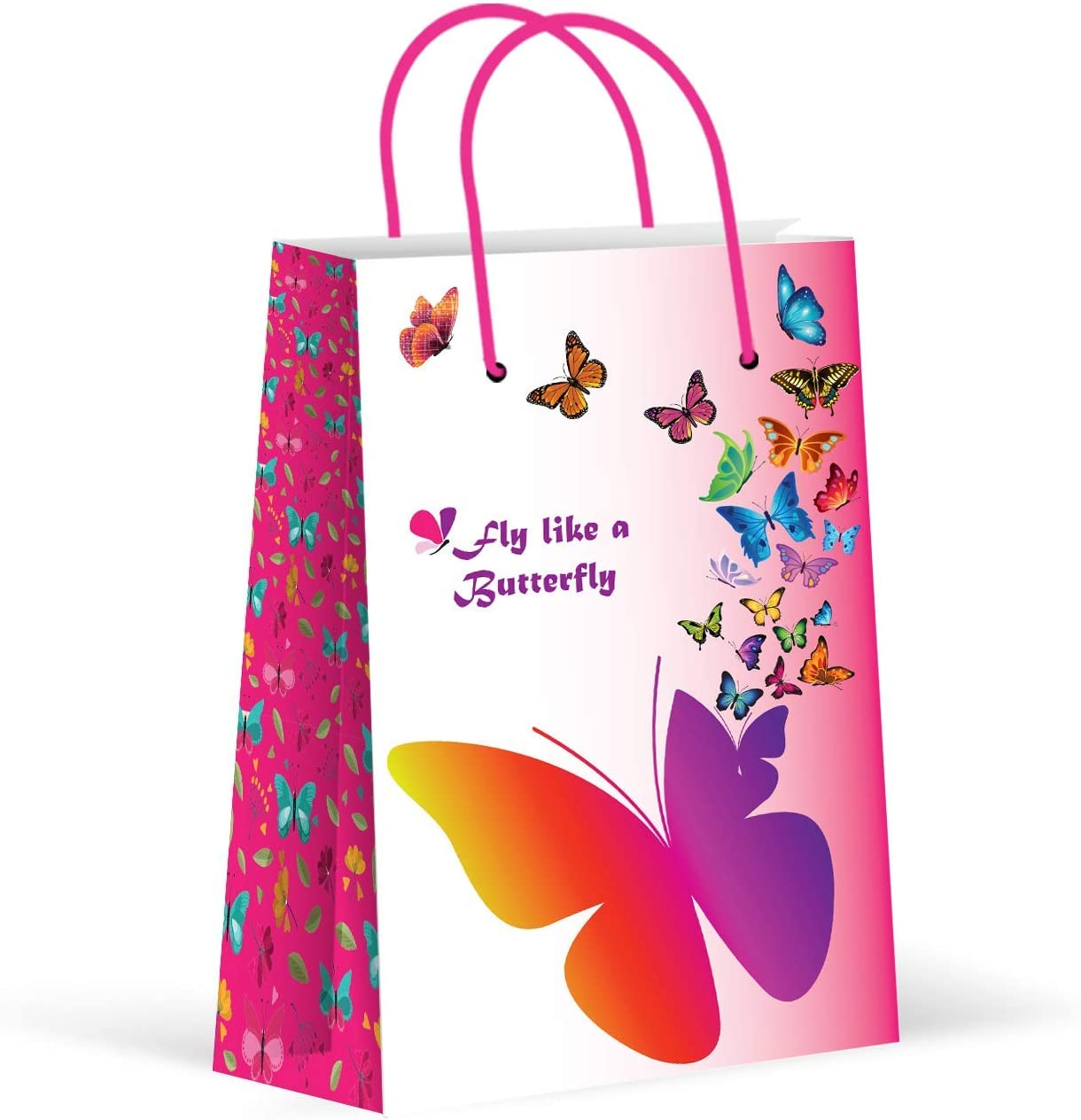 40 pc First Birthday PRINCESS BUTTERFLY FAIRY  Treat Bags Candy Bags 7-9A