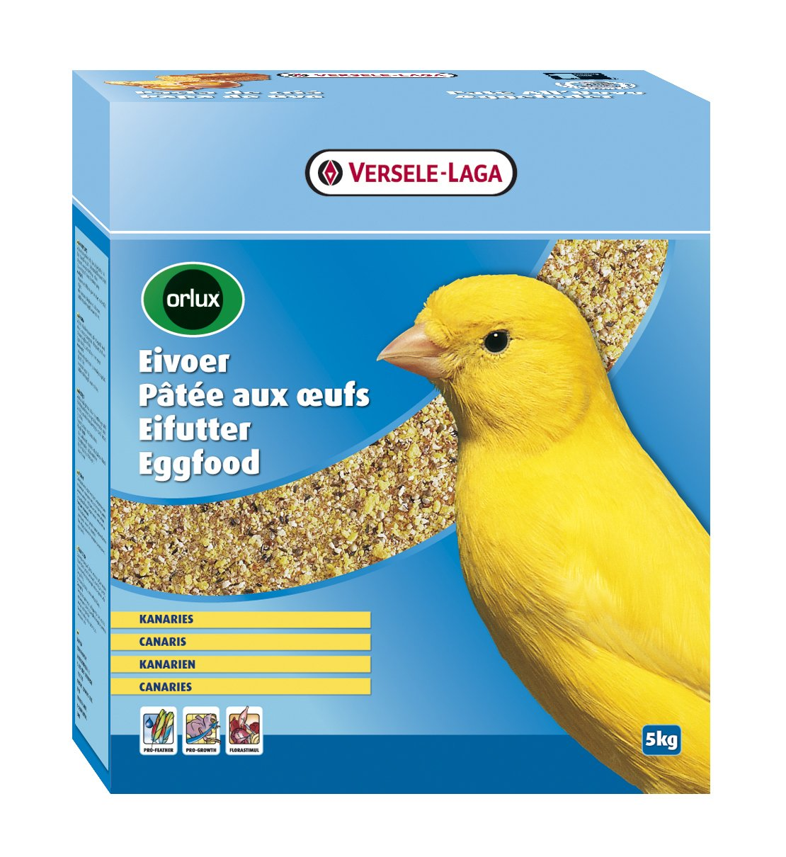 Amazon.com : Versele Laga Orlux Vl Orlux Canary Dry Eggfood 5Kg : Pet Food : Pet Supplies