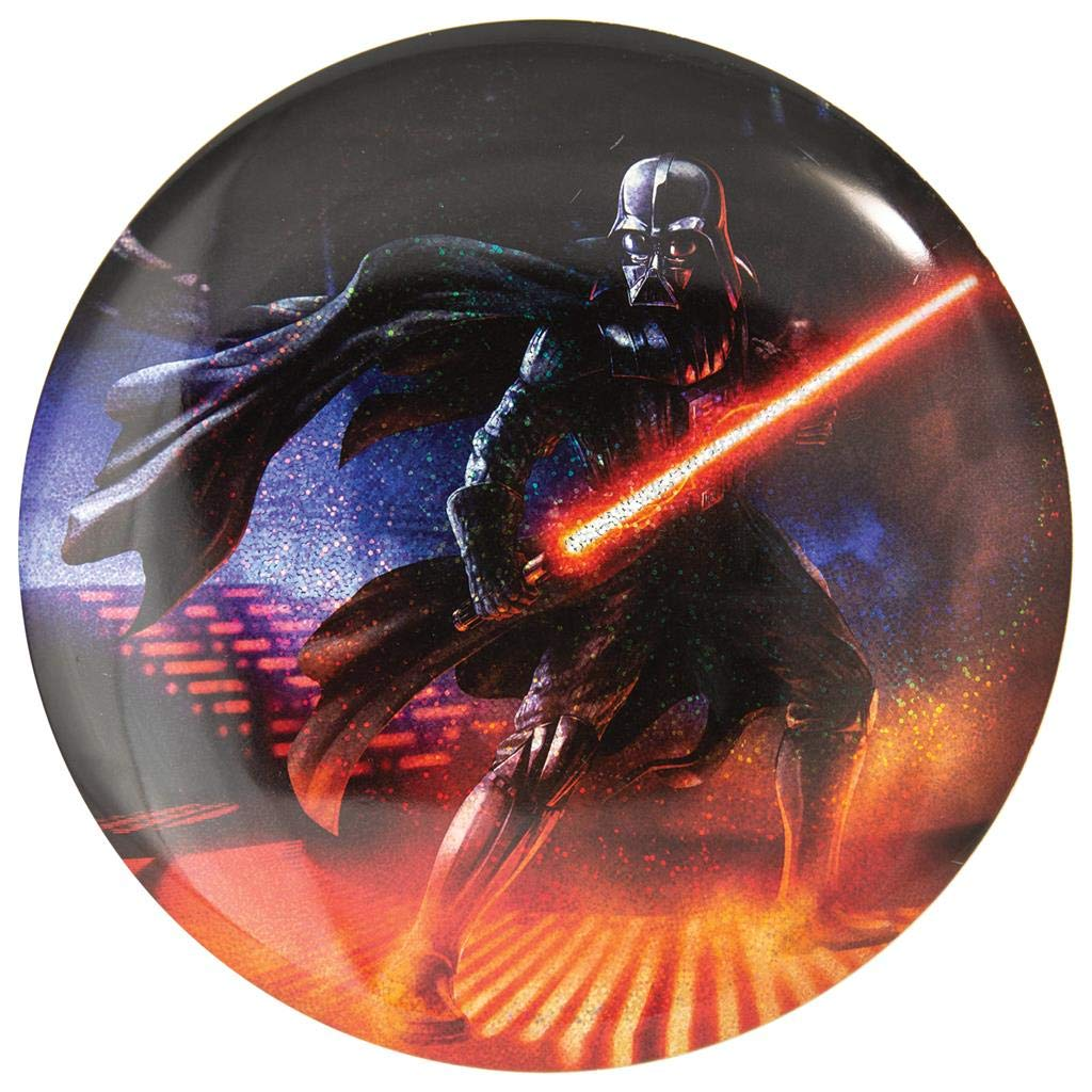 Discraft Star Wars Full Foil Sparkle Prism Darth Vader Supercolor ESP Buzzz Midrange Golf Disc - 173-174g
